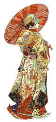Hiki-Furisode ex Machina by HR-FM