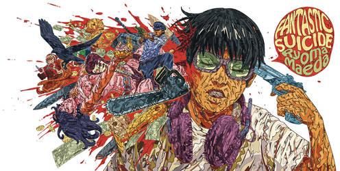 Ryoma Maeda '' FANTASTIC SUICIDE'' Art by HR-FM by HR-FM