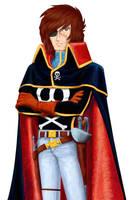 Captain Harlock by LynxC