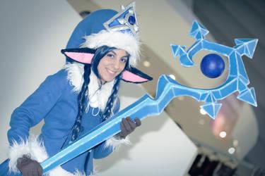 Winter Wonder Lulu - League of Legends by Anffeith