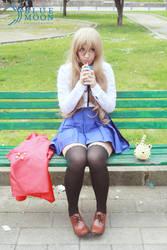 Aisaka Taiga takes a break :) by Anffeith