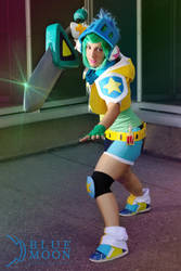 Riven Arcade - League of Legends by Anffeith