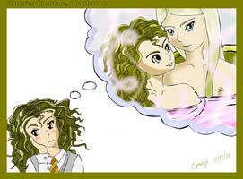 Hermione x Fleur by Spookje
