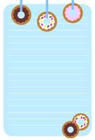 Donut Stationery by FraeuleinAbart