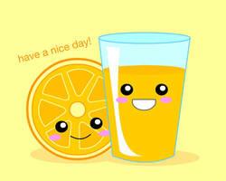 Orange Juice by FraeuleinAbart