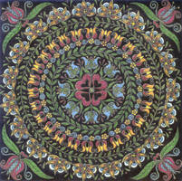 Fraktur Mandala by Jewelfly