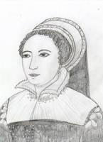 Caterina de' Medici by Nesihonsu