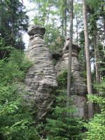Towers of stone by Nesihonsu