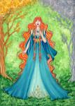 Commission: Yavanna by ArunaWolf