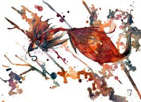 Asian Fish O Ka Fee III by RubisFirenos