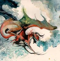 Flight Dragon O Ka Fee by RubisFirenos