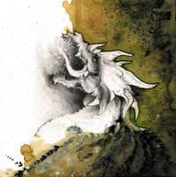 Dust Dragon O Ka Fee by RubisFirenos