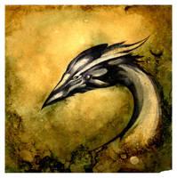 Dragon Head Study O Ka Fee by RubisFirenos