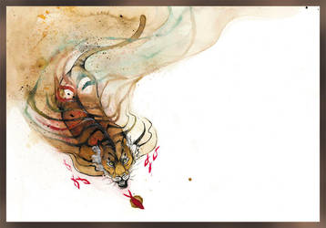 Richard Parker the Tiger O Ka Fee by RubisFirenos
