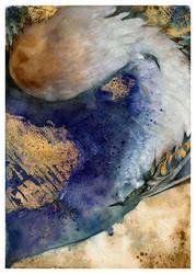 Blue Dragoness Queen O Ka Fee by RubisFirenos
