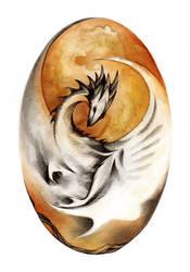 Fire Egg Dragon O Ka Fee by RubisFirenos