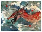 Dragon's Waves by RubisFirenos