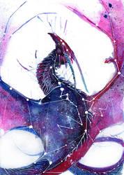 Galaxy Dragon by RubisFirenos