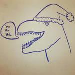 Santa Dino by madizzlee
