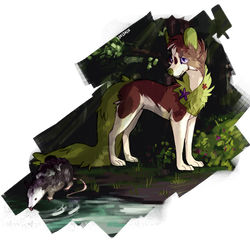 Olive - Art Fight by Deltalix