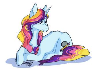 Poniesha - ARTfight by Deltalix