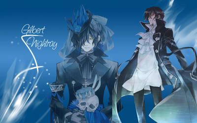 Gilbert Nightray Wallpaper by Yugoku-chan