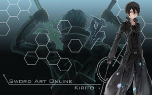 Sword Art Online - Kirito Wallpaper by Yugoku-chan