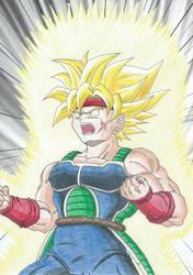 Super Saiyan Bardock by Yugoku-chan