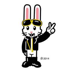 Biker Bunny by lebedevore