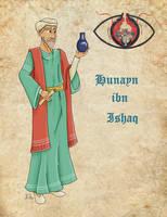 Medieval Scientist Hunayn ibn Ishaq by Pelycosaur24