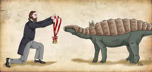 Eduard Suess and his Struthiosaurus by Pelycosaur24