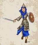 Historical Disney Warrior Princess - Jasmine by Pelycosaur24