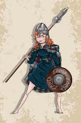 Historical Disney Warrior Princess - Merida by Pelycosaur24