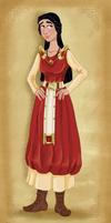 Norici Girl by Pelycosaur24