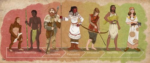 Stone Age Timeline by Pelycosaur24