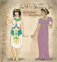 Cleopatra - Stereotype vs Reality by Pelycosaur24