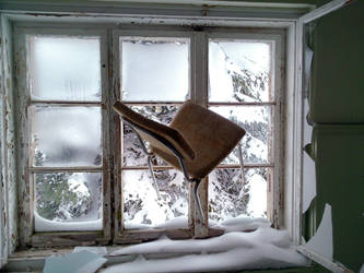Chair in the Window by DeReze