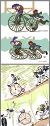 Bicycles by kalkie