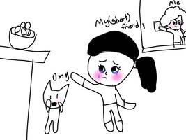 Cartoon Selfie by StephanieMeowCat