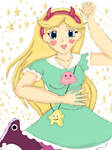 Star Butterfly Anime Style by AsherahQueenofHeaven