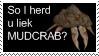 Morrowind stamp: Mudcrab by Shade-Duelist
