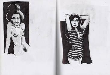sketchbook by jaimie13