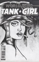 Tank Girl Blank cover by jaimie13