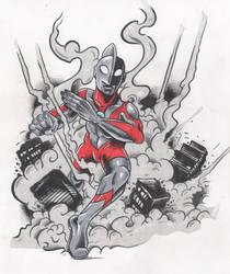 Ultraman by jaimie13