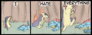 Hate - 3 by Draikinator