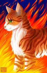 Realistic Firestar by Draikinator