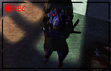 [Proxy OC] Black Rose: Security Camera by L0ra2