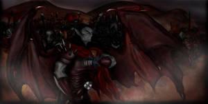 Blood War. Devil side. by Nectim