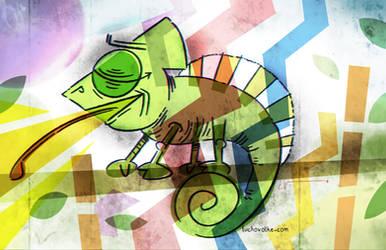Chameleon by LuchoVolke