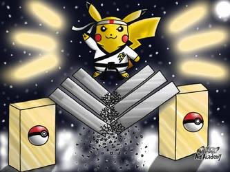 Karate Master: (Dress-Up Pikachu Edition) by Aizenfree
